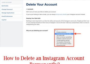 How to Delete an Instagram Account Permanently?