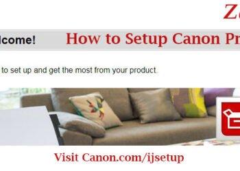 How to Setup Canon Printer