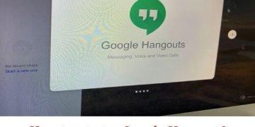 How to start a Google Hangout