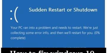 how to fix windows 10 shutdown problem