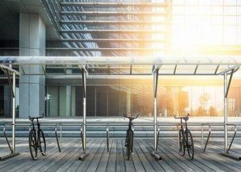 bike parking shelter