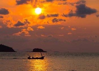 sunset samed
