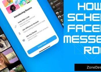 schedule Facebook Messenger Room
