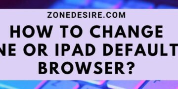 change iPhone or iPad default web browser