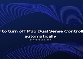 turn off PS5 Dual Sense Controllers automatically
