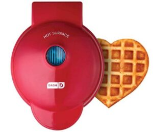 Dash mini heart shape waffle maker