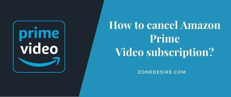 cancel Amazon Prime Video