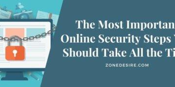 Online Security steps