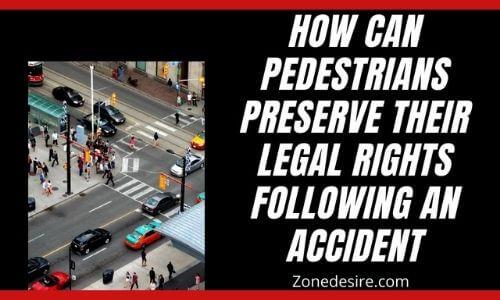 Pedestrians banner