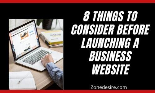 business website banner