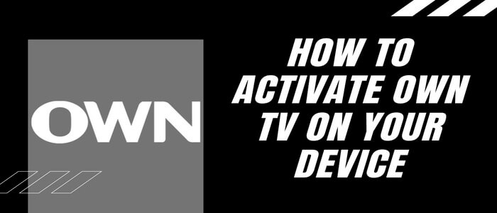 start watchown tv activate