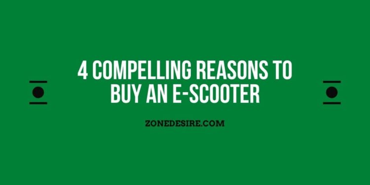 Buy An E-Scooter
