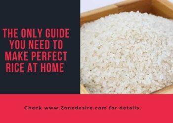 Make Perfect Rice At Home