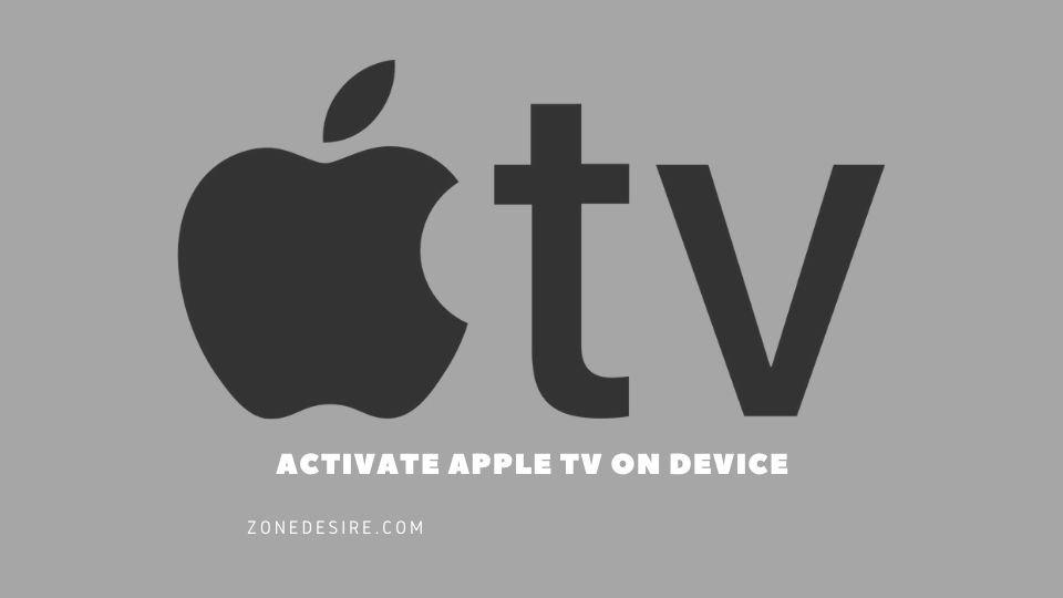 apple tv activate