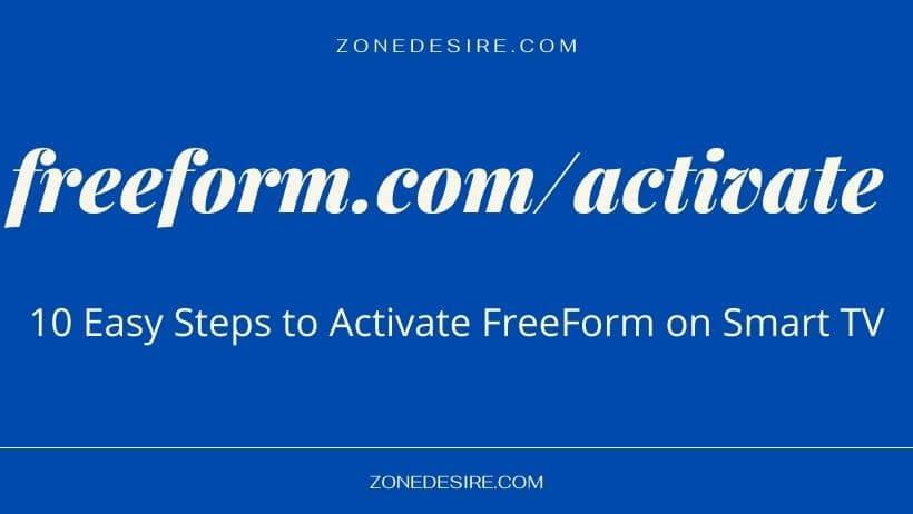 activate Freeform