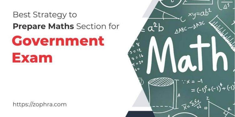 Prepare Maths Section